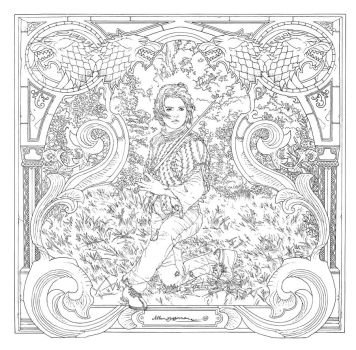 Game Of Thrones_ Coloring Book_ 07 by AllJeff