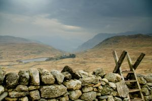 On the way to Glyder Fach by happeuss