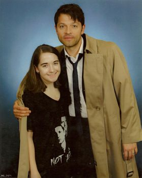 Me with Misha Collins! by Earth-Girl-42