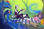 Lungile's Tea Party by Aazure-Dragon