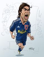 Marcelo Salas by pituman