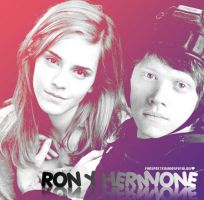 my blend Hermione y Ron by magiapotter