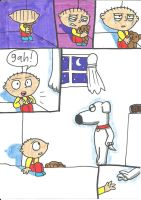 RIP, Brian Griffin by cmara