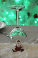 Christmas Table Decoration by MayEbony
