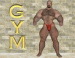 [B2] Buster Page [Gym] by Bodybeef