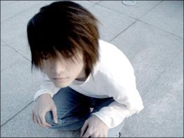 5 Death note cosplay Japan L by Gyaru-neverdie