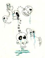 Crying Skull abomination by Goodlyman100