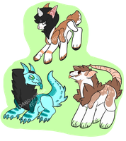 Cheap Offer to Adopts+Closed+ by DandyPandaPrince