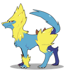 Manectric by CookieHana