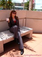Donna Noble - In the Shade by cyborgseamstress