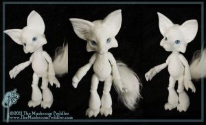 Kitsune the Fox by TheMushroomPeddler