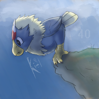 Rufflet-40 Days by fossilizer