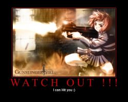 Poster Fun: Gunslinger Girl by sejansen