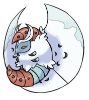 Snow Moth by Nyjee