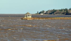 A Windy Day on Buctouche Bay by Brian-B-Photography
