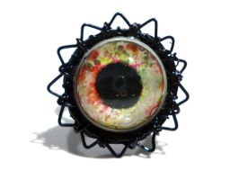 Eye ring/ bague oeil by glo0bule