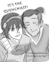 It's the Quenchiest! by justixoxo