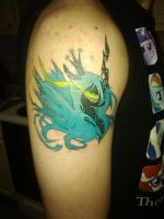 Queen Chrysalis Tattoo! by FreelancerPony