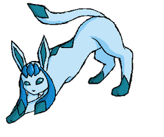 Paint-Glaceon by Fang-Chan13