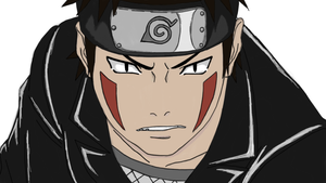 Kiba Lineart (Colored) by Shadow-chan15