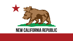 NewCalifornianRepublic Flag 1 by FragOcon