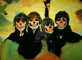 Beatles For Sale by derekartist