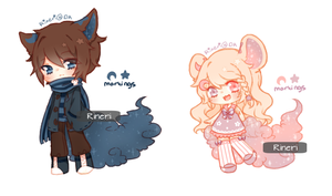 SpiceMare and SugarDream baesss by Rineri
