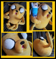 Jake the Dog plushie by Busoni