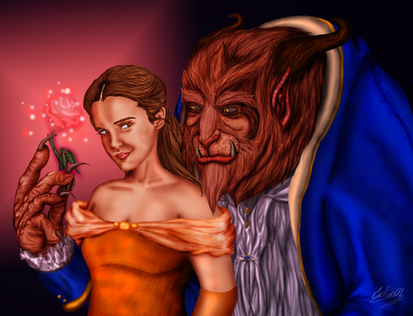 Beauty and the Beast by TransformNightMare