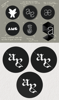 Personal Logo Exploration Process by agasparetti