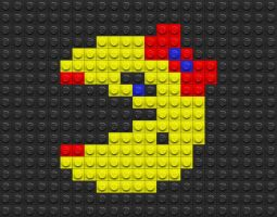 Legos Ms Pacman by drsparc