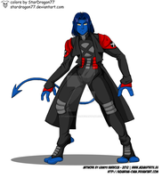 X-men Evolution - Nightcrawler by StarDragon77