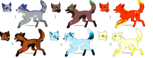 Le wild adopt sheet appears by HoldingOnForever