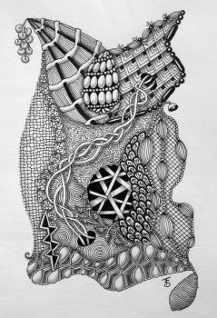 Zentangle 2 by CREATIVESOUL1927