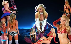 Jessica Nigri Wallpaper by cloudff7ac
