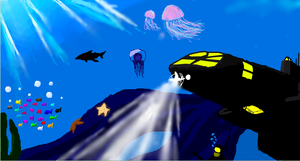 sea in iscribble by IrateResearchers
