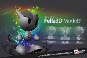 Fella Model - max 3ds obj by ereon59