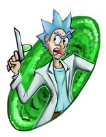 RickRicketyRick by WforWumbo