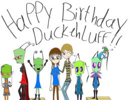 B-day pic for DuckehLuff by Herure
