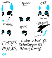 Cody's Mask's by toxicfox100