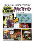 1.36 Factivity Fun Page! (Matching game) by trivialtales
