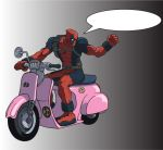 Deadpool -superbike- by orcsan
