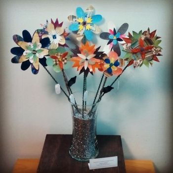 Delightfully Unique Collage Flowers - The first 8 by Kyle-Lefort