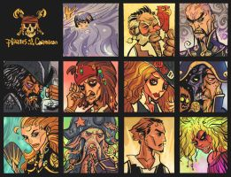 pirates of the caribbean by breath-art