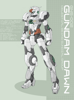 Gundam Dawn by Tekka-Croe