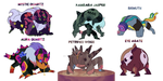 Special corrupted gem tier adopts (closed) by FloofHips