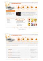 Design Company Layout by depthskins