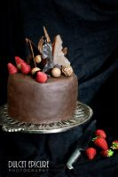 Chocolate Death (8 Layered Lindt Cake) by DulcetEpicure