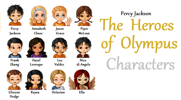 The Heroes of Olympus by hereiwasnot