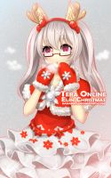 Tera Online: Elin Christmas by Kamaniki